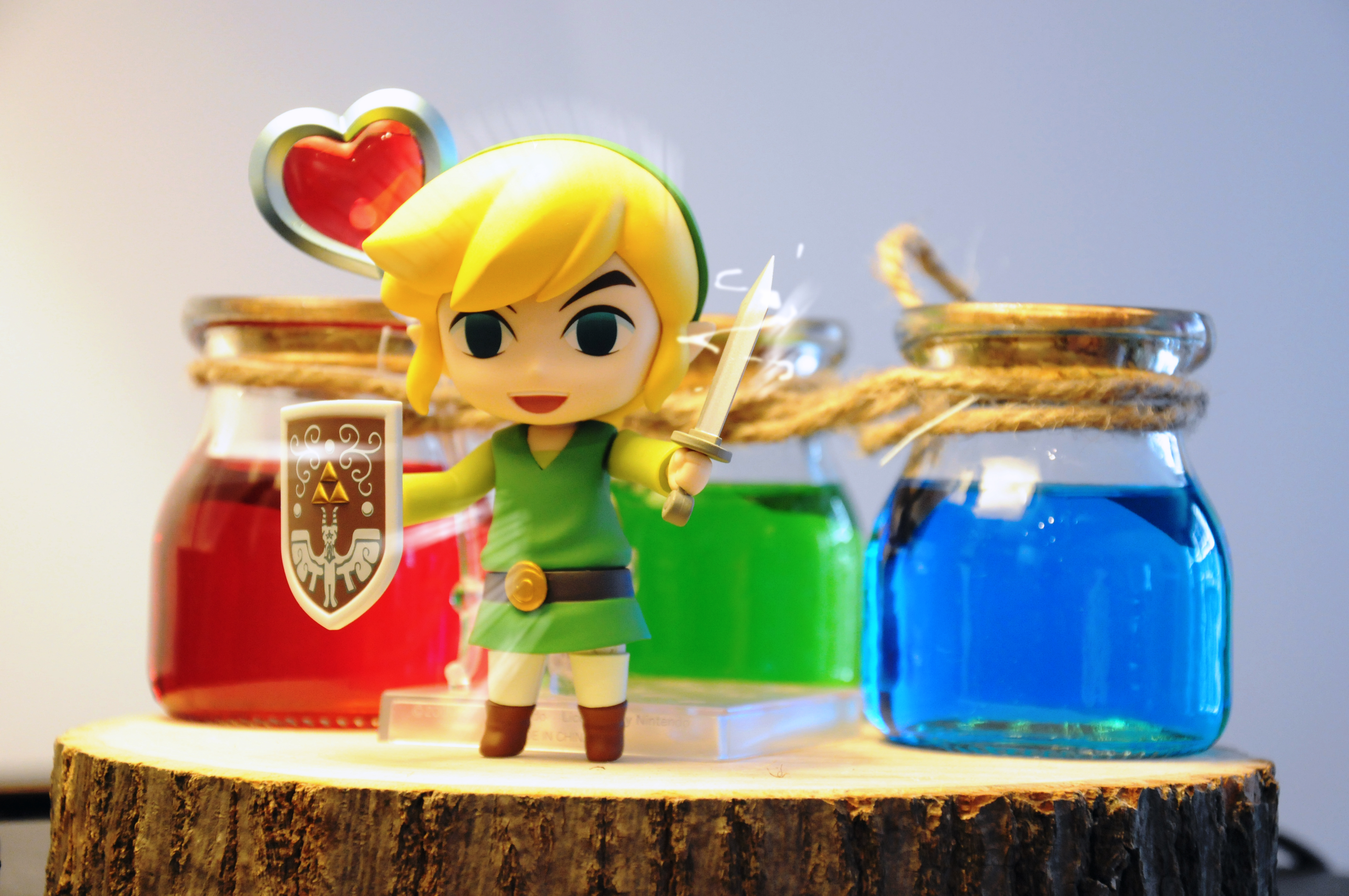 Decoration Zelda Link test FX
